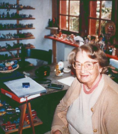Дора Калф, создатель песочной терапии